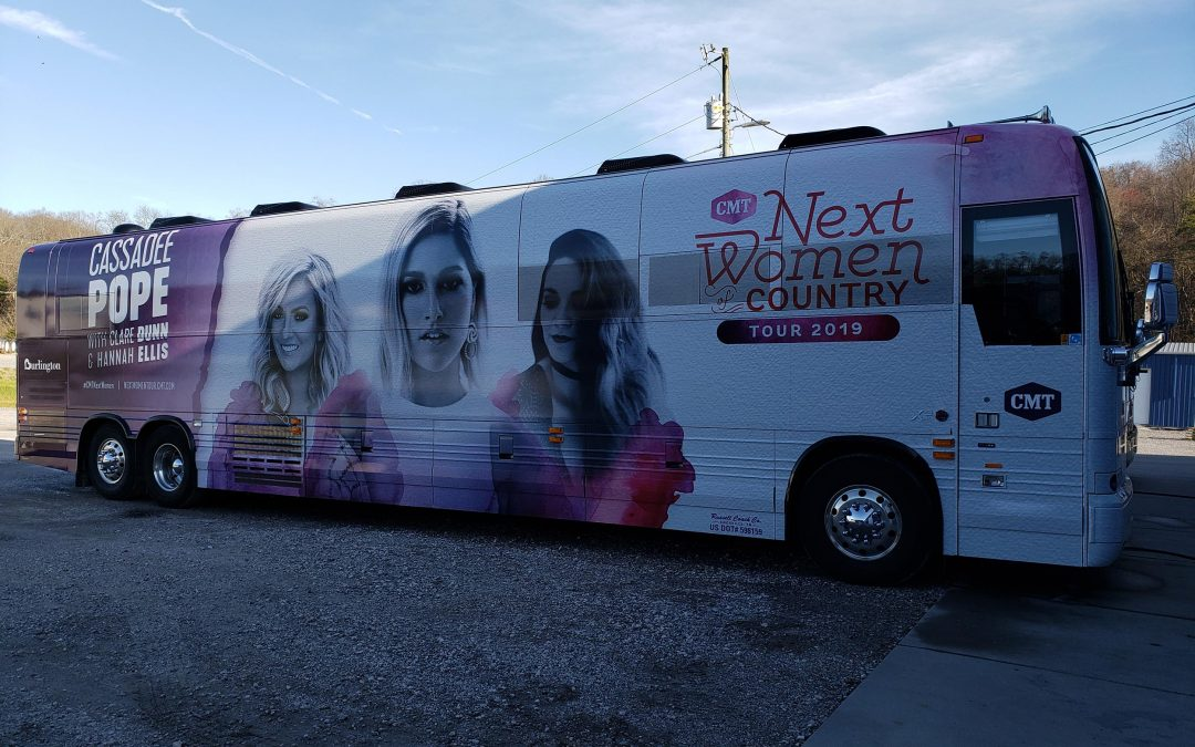 Bus Wrap for Cassadee Pope